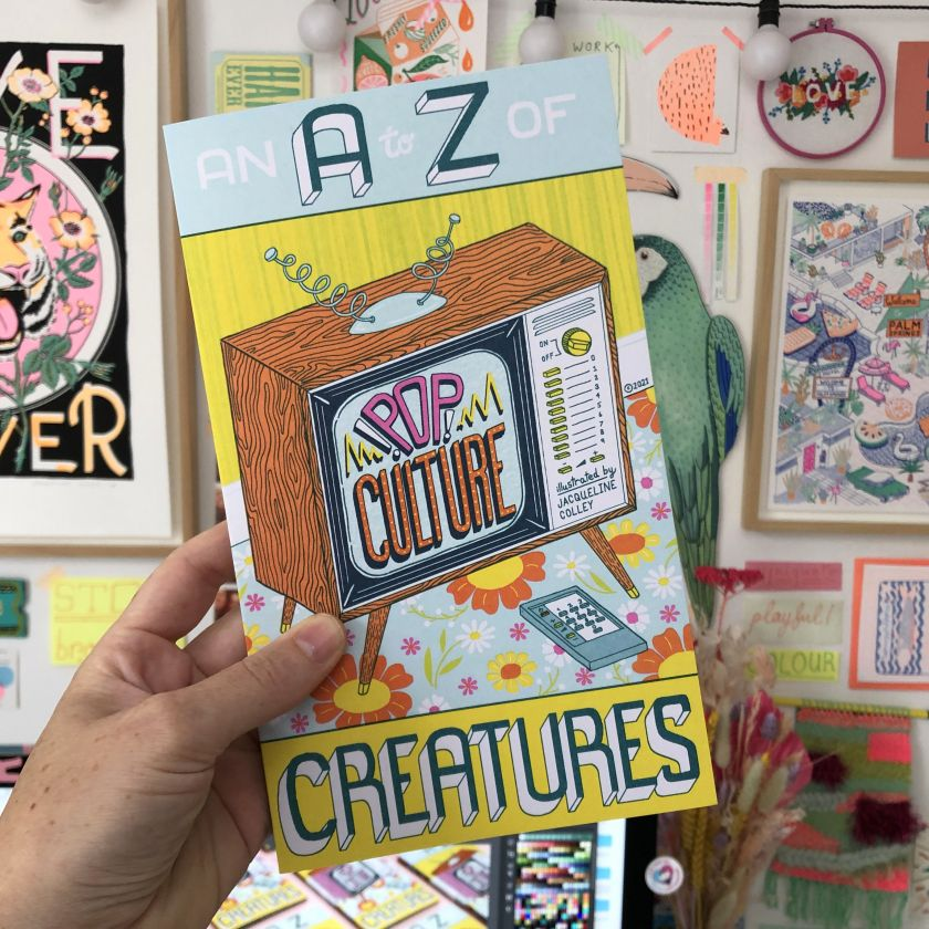 An A-Z of Pop Culture Creatures an-a-to-z-of-pop-culture-creatures © Jacqueline Colley