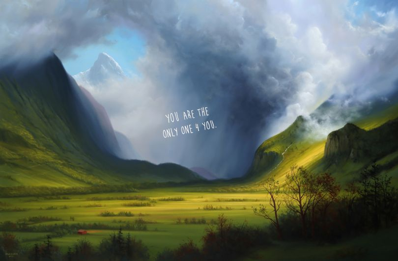 Storm In The Mountains: You Are The Only One For You, 2021 © Shawn Huckins