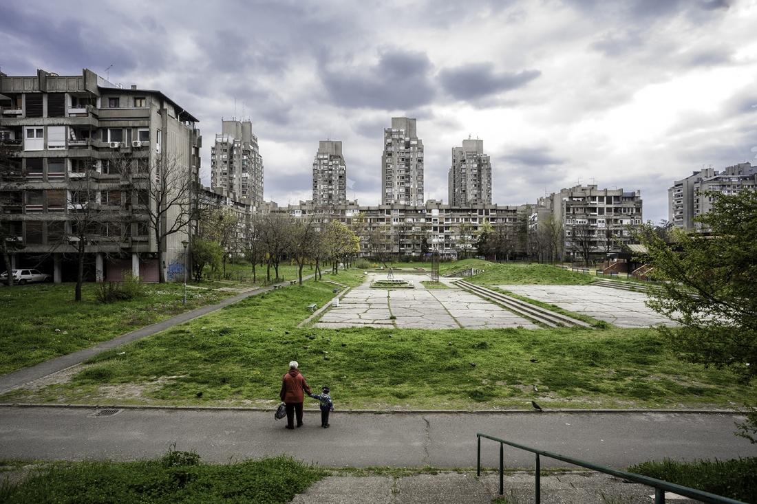 Photographer: Inigo Bujedo Aguirre Blok 23, Novi Beograd, Belgrade, Serbia  Architect: Aleksandar Stjepanovic