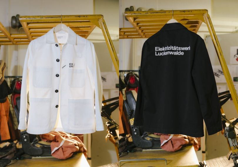 Werk Jackets. Courtesy of Diana Pfammatter and Universal Works