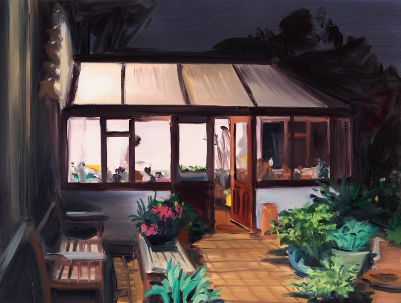 Caroline Walker Study for Tucking In, Late Evening, March, 2019