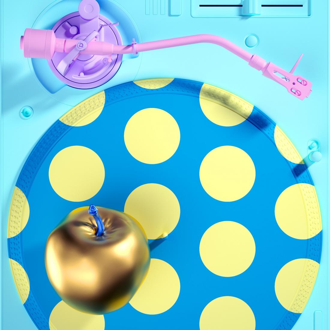 Bright, bold and crazy digital pop art by Kota Yamaji with