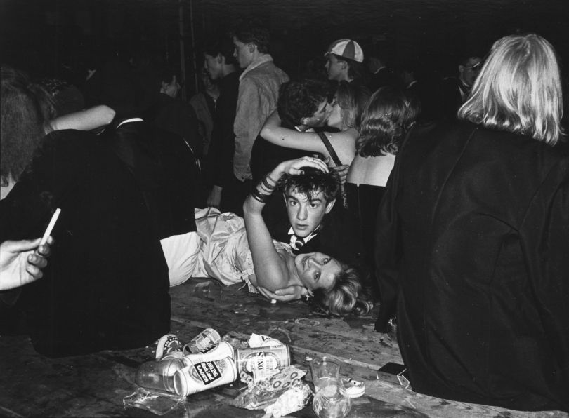 Halloween Ball, 1987 © Dafydd Jones, from the book The Last Hurrah published by STANLEY/BARKER