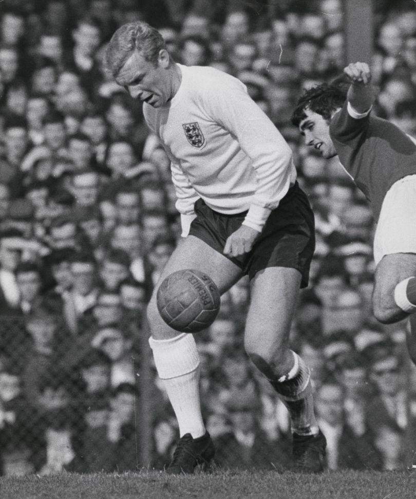 Bobby Moore and George Best by Syndication International Ltd, 1964 © Mirrorpix