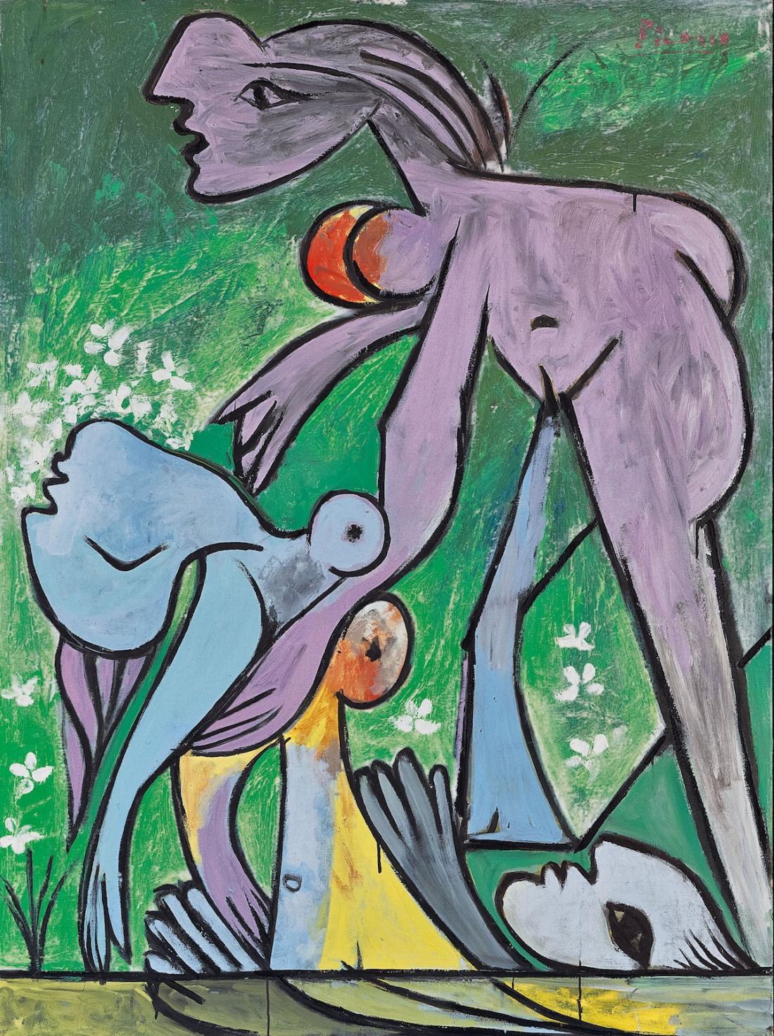 Pablo Picasso The Rescue (Le sauvetage)    1932 Oil paint on canvas 1445 x 1122 x 77 mm Fondation Beyeler, Riehen/ Basel, Sammlung Beyeler © Succession Picasso/ DACS London, 2017