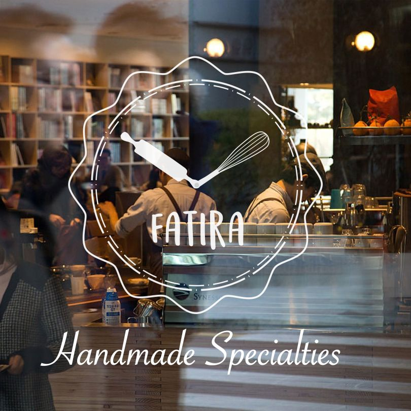 Branding Identity for Fatira Restaurant by Kaf Design. Bronze A' Design Award Winner in the Graphics and Visual Communication Design Category.