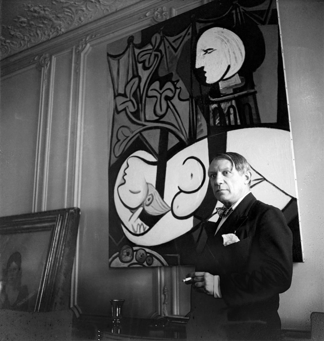 Cecil Beaton Pablo Picasso, rue La Boétie, 1933, Paris (c) The Cecil Beaton Studio Archive at Sotheby's