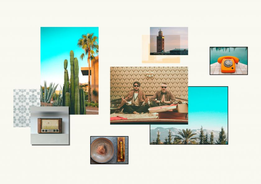 Land of Plenty's visual identity for Beat Hotel's Marrakech micro-festival