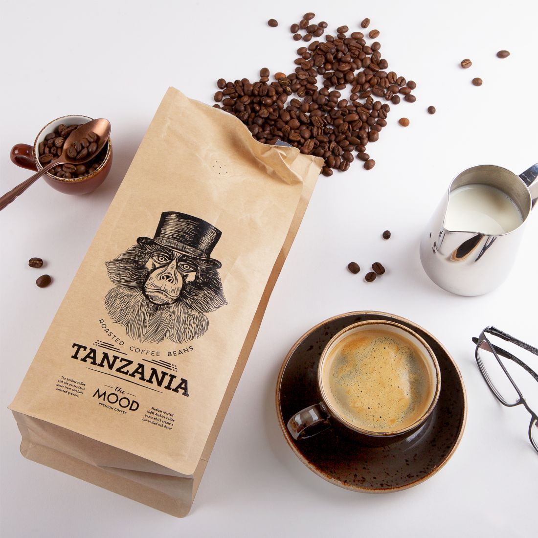 In The Mood for Coffee packaging by Salvita Bingelyte