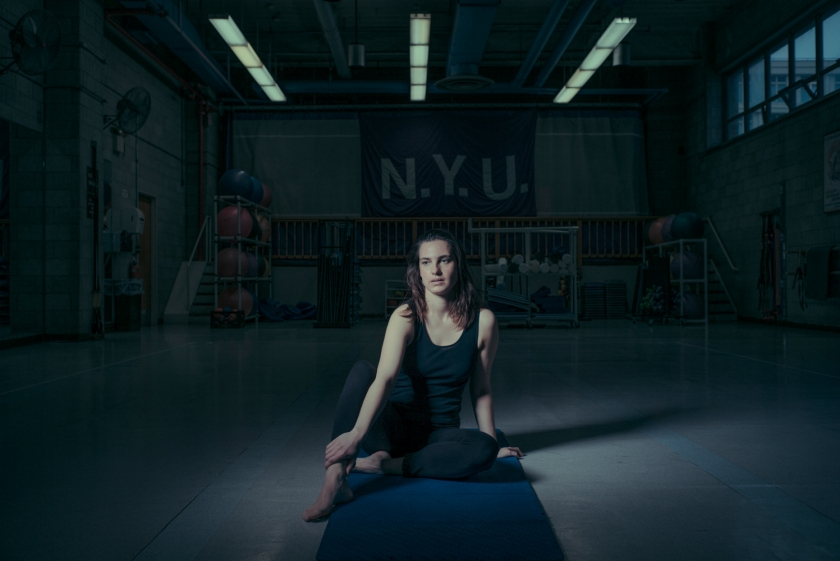 Alexandra Thorson, actress & pilates teacher at New York University