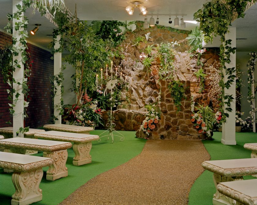 The Garden Wedding Chapel © Jane Hilton