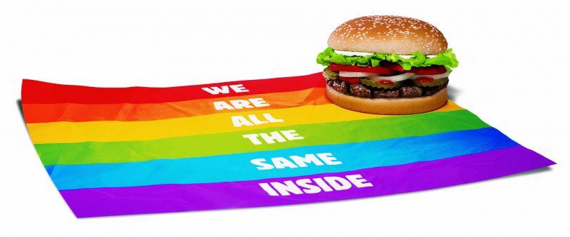 Burger King Pride Whopper