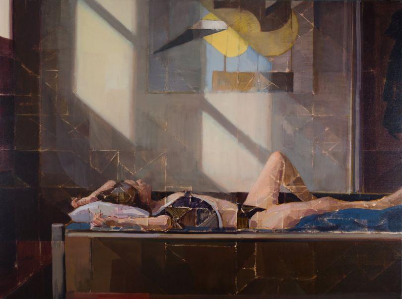 Double Light, Oil on Canvas, 36