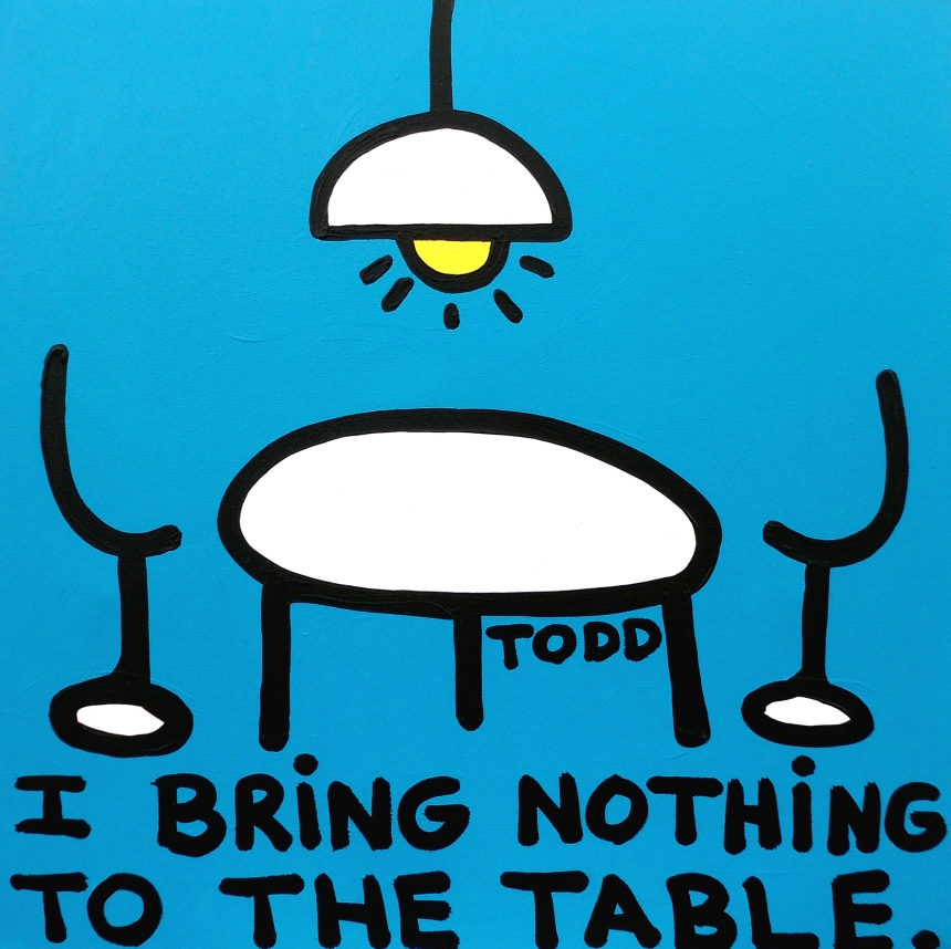 Nothing to the Table | © Todd Goldman