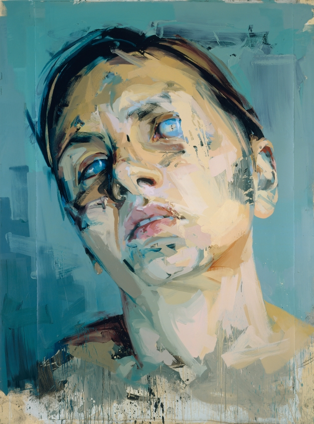 Rosetta II, 2005 - 2006 Oil on watercolour paper, mounted on board, 252 x 187.5cm  Private collection © Jenny Saville Courtesy of the artist and Gagosian