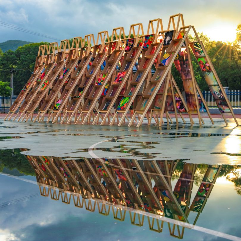 Hi Ladders High Pavilion Pavilion by Hao Li. Winner in the Architecture, Building and Structure Design Category, 2019-2020.