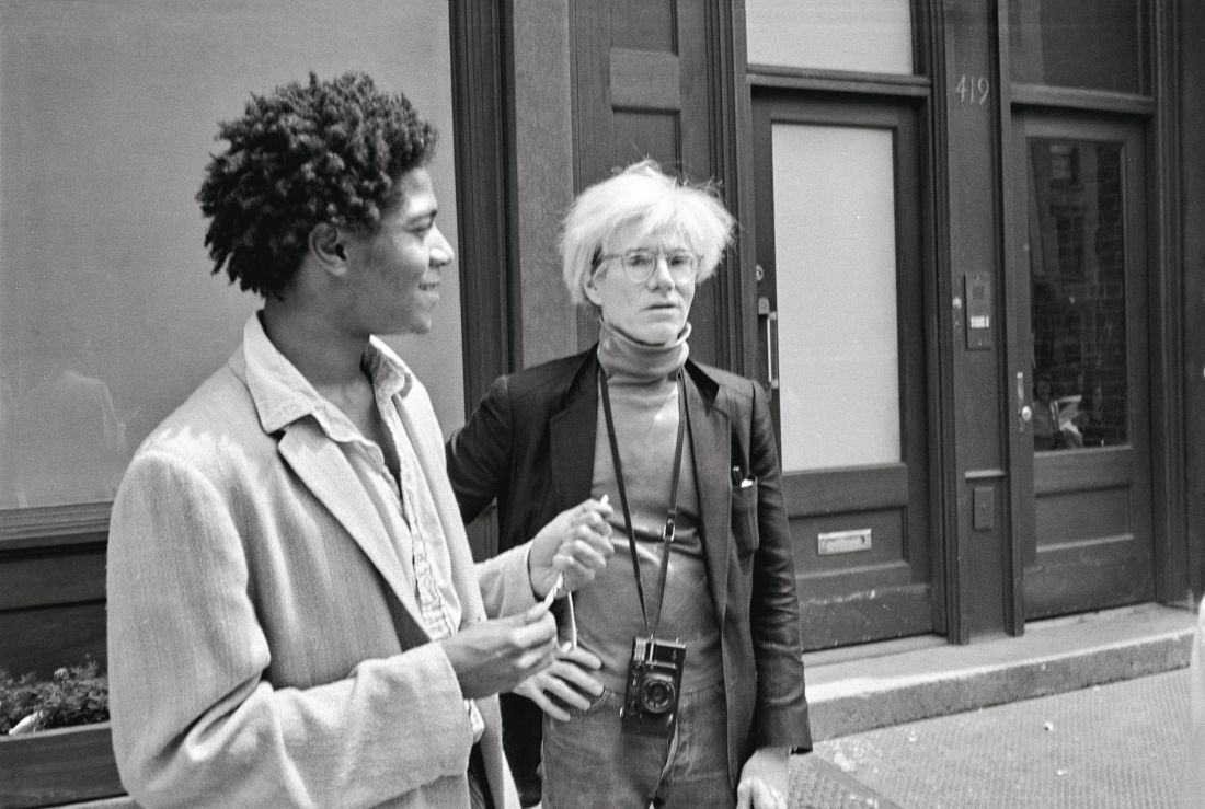 Warhol on Basquiat humanises these larger-than-life characters in the dynamic downtown scene of New York City