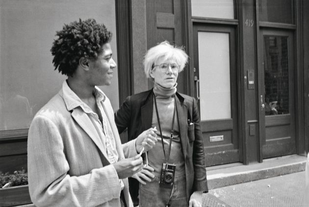 Outside the Mary Boone Gallery on West Broadway, May 3, 1984. Copyright: © The Andy Warhol Foundation for the Visual Arts, Inc.