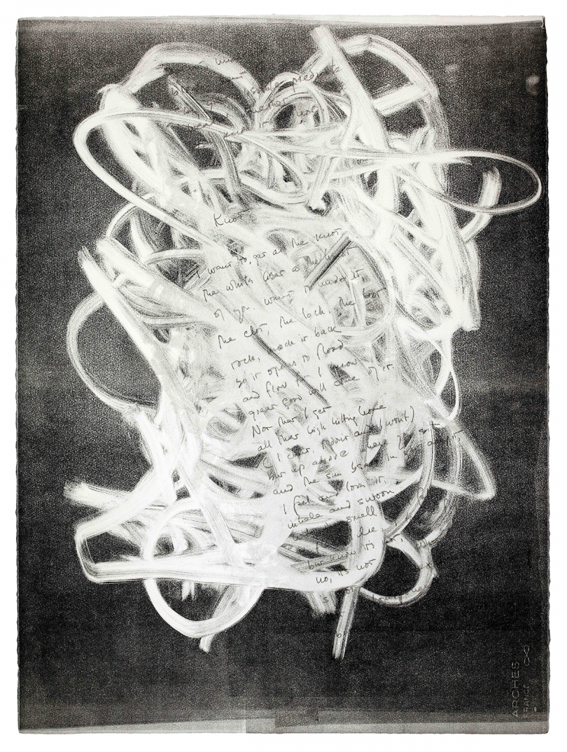 Robert Perkins, Jon Galassi, Knot, 2000 © Robert Perkins. Courtesy the Artist and Benjamin Spademan Rare Books. Photo by Louie Fasciolo