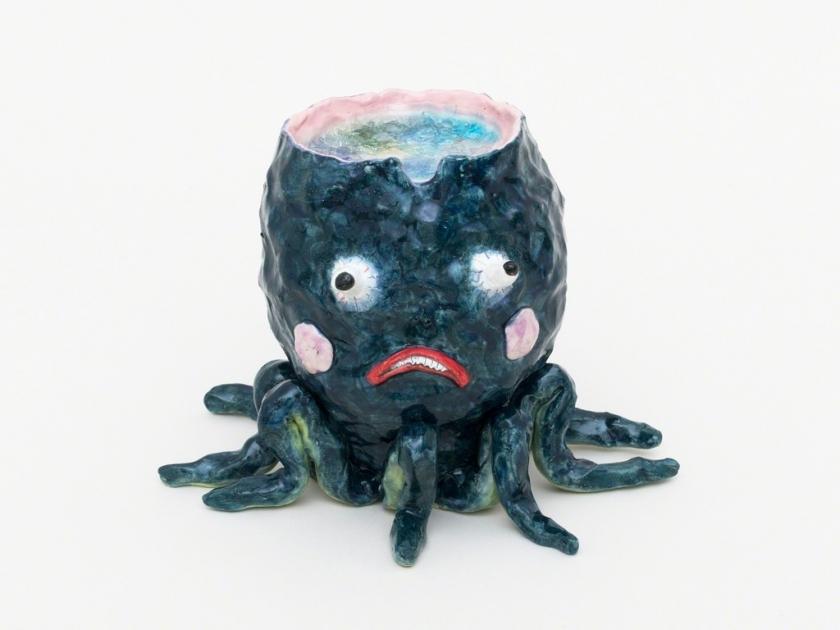 Joakim Ojanen – Smokey Octopus Thoughts, 2018. Fisher Parrish Gallery