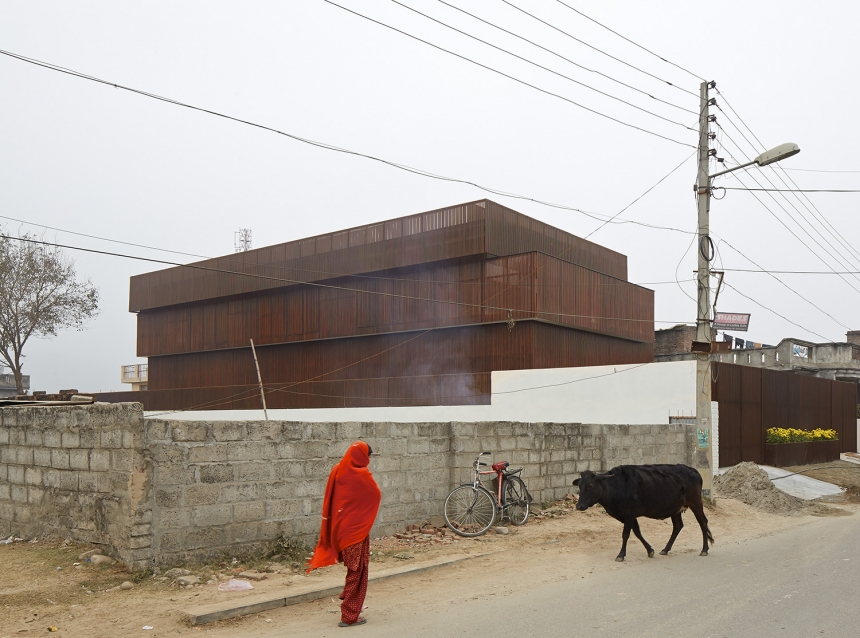 Photographer: Edmund Sumner Lattice House, Kashmir, India  Architect: sP+A Architects (Sameep Padora)