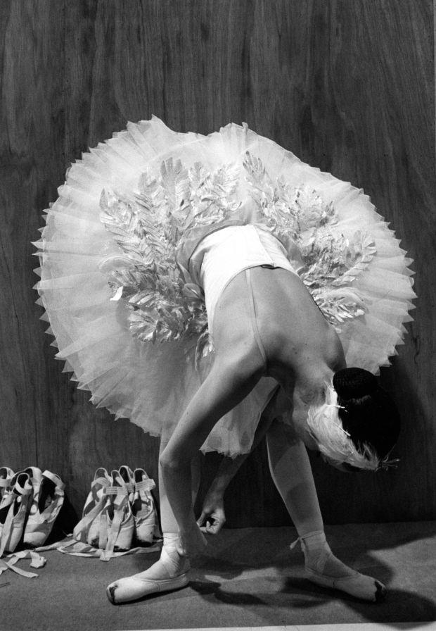 A dancer from English National Ballet, 1999. Copyright Colin Jones / Topfoto.co.uk
