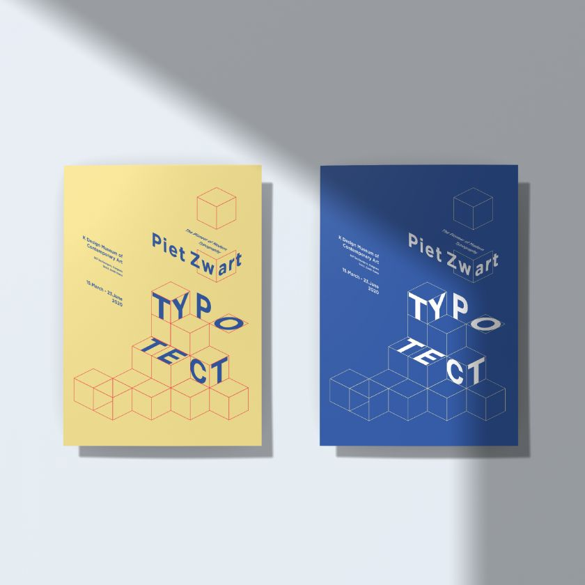Typotect Corporate Identity by Seulah Choi. Winner in the Graphics and Visual Communication Design Category, 2019-2020.