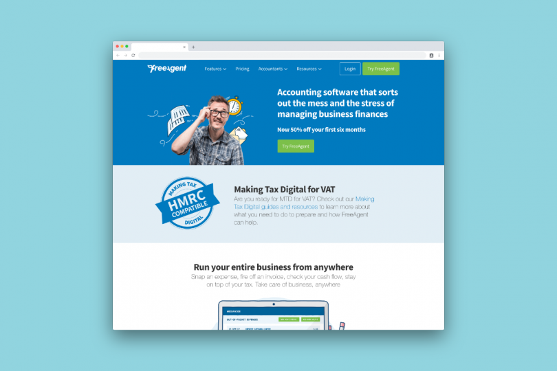 FreeAgent, brilliant invoicing and time tracking software