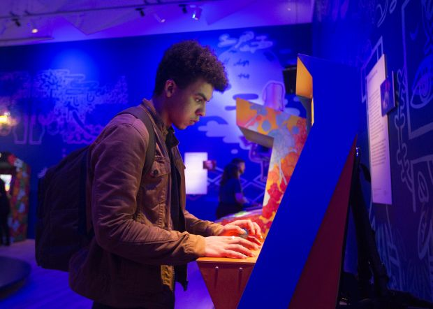 Videogames: Design/Play/Disrupt opens at V&A Dundee on Saturday 20 April. Image: Michael McGurk