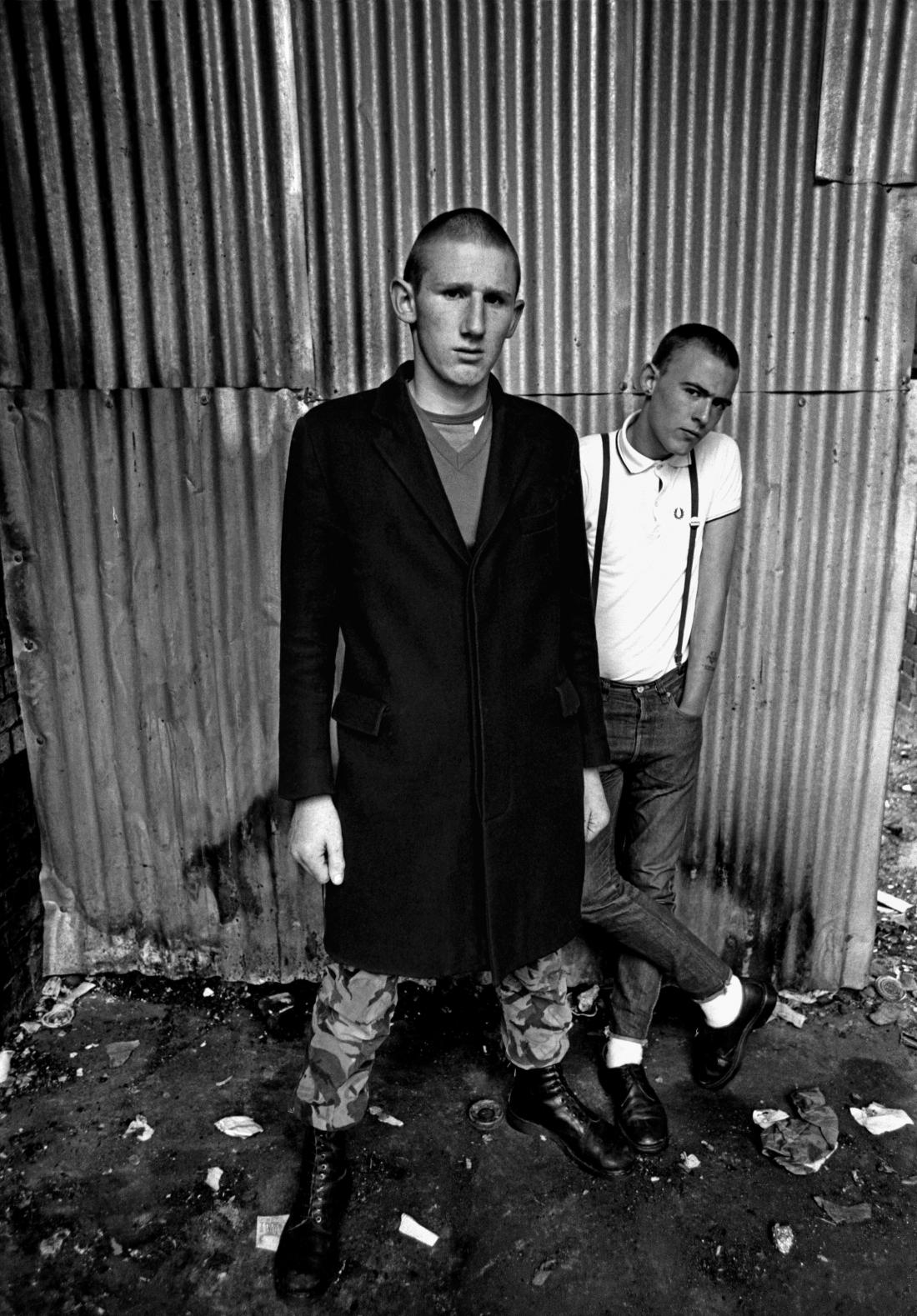 Skinheads, Petticoat Lane, East London 1979
