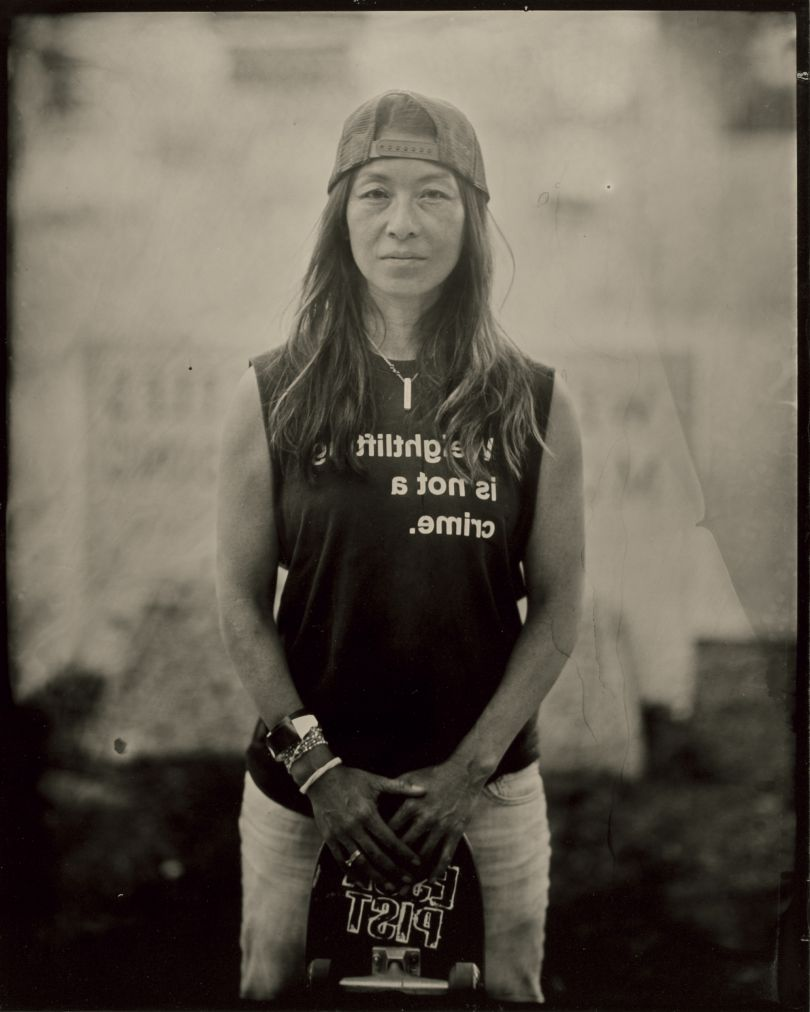 © Jenny Sampson, from the book Skater Girls, published Daylight