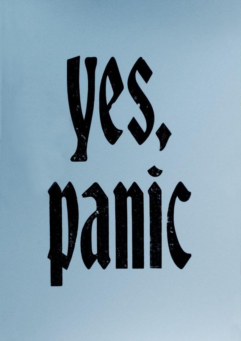 Yes, Panic © New North Press + Jane Plüer