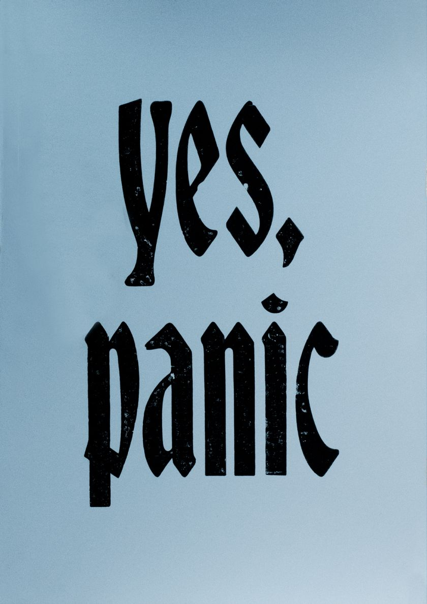Yes, Panic © New North Press + Jane Plüer