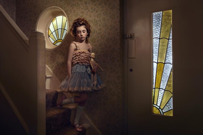 Haunting and supernatural photographs by Gillian Hyland full of drama