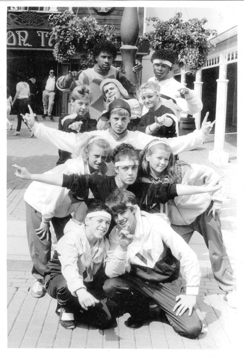 Street Machine Crew with Shannon 1985