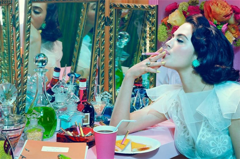 Actress #4, 2012, Chromogenic Print © Miles Aldridge