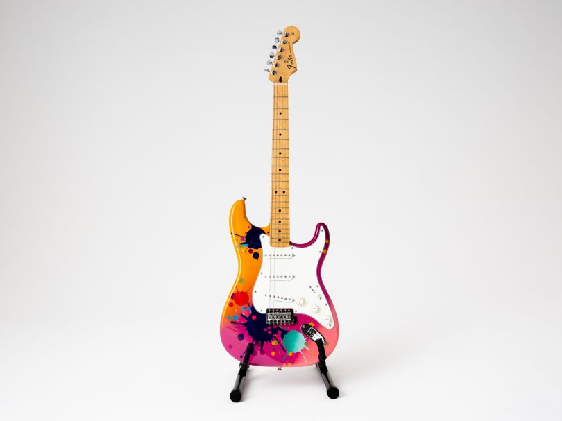 Guitar by Goldie.  Image © Louise Haywood-Schiefer