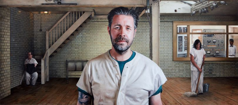 Paddy Considine as R.P McMurphy from One Flew Over The Cuckoo's Nest
