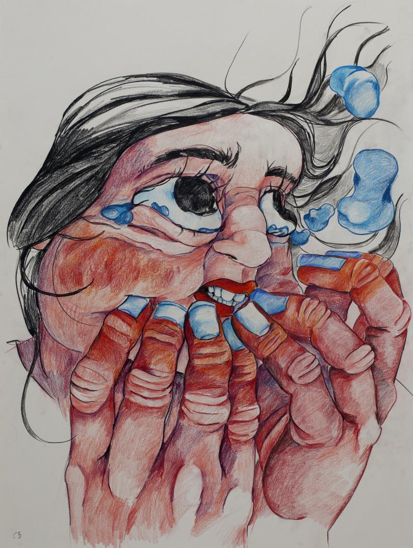 Angustia, works on paper © Cristina BanBan