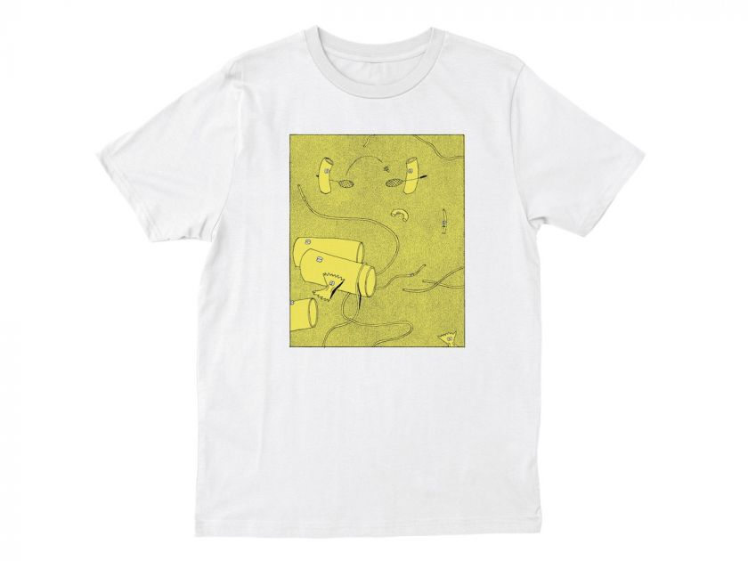 Anna Haifish Illustration T-Shirt. Courtesy of the artist