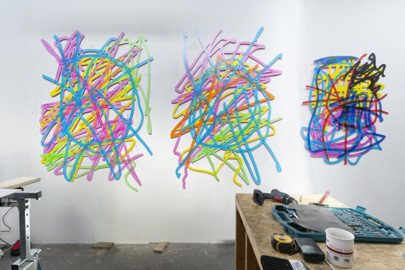 Ralph Anderson's studio