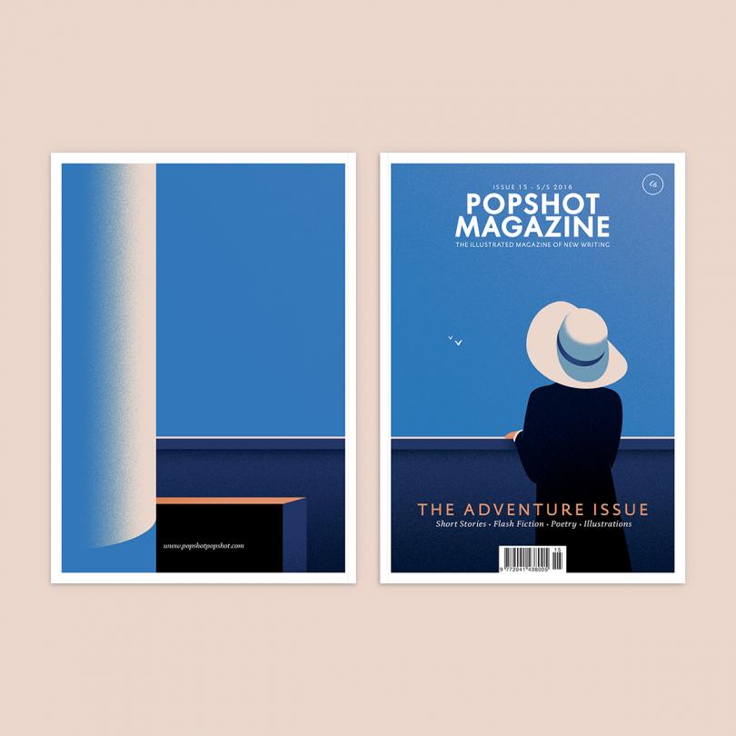 Cover illustration for Popshot magazine