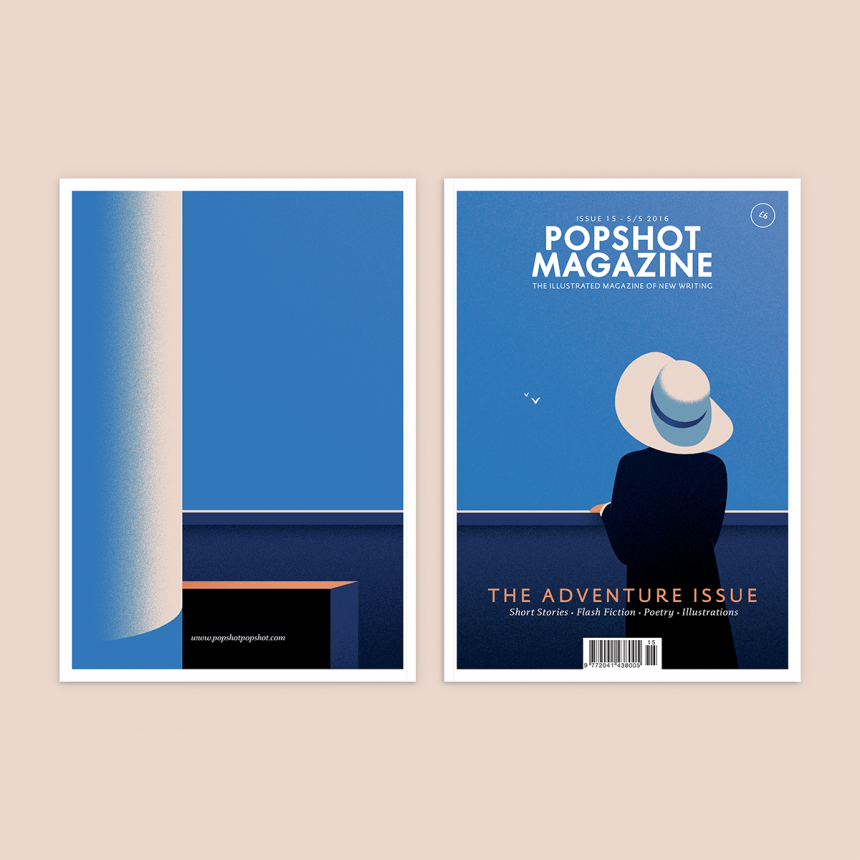 Cover illustration for Popshot magazine