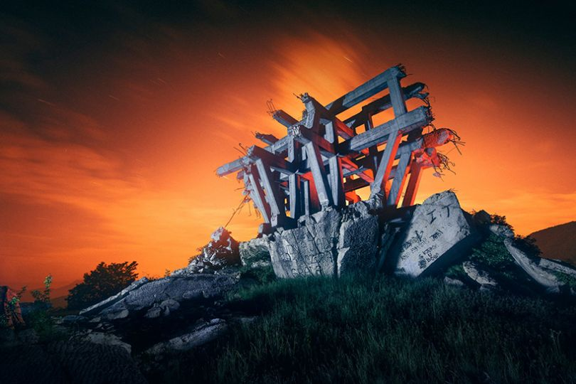 Makljen, Bosnia & Herzegovina. From the series, Eternal Monuments in the Dark © 杨潇 [Yang Xiao](https://www.inhiu.com/)