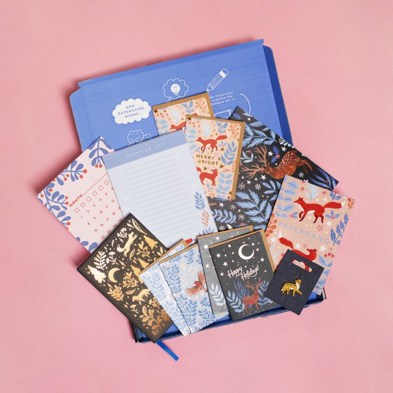 Papergang, a monthly box of stationery