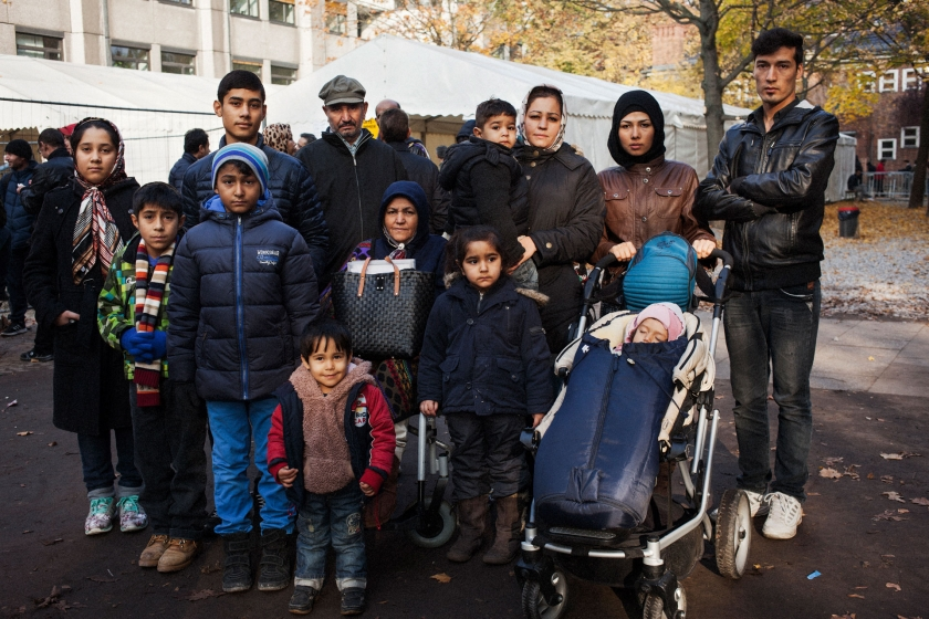 Ahmad and his family