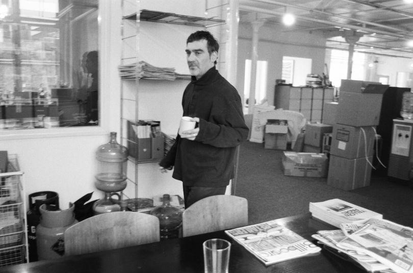 Eliot Rashamn. Manager of Simply Red © Amelia Troubridge