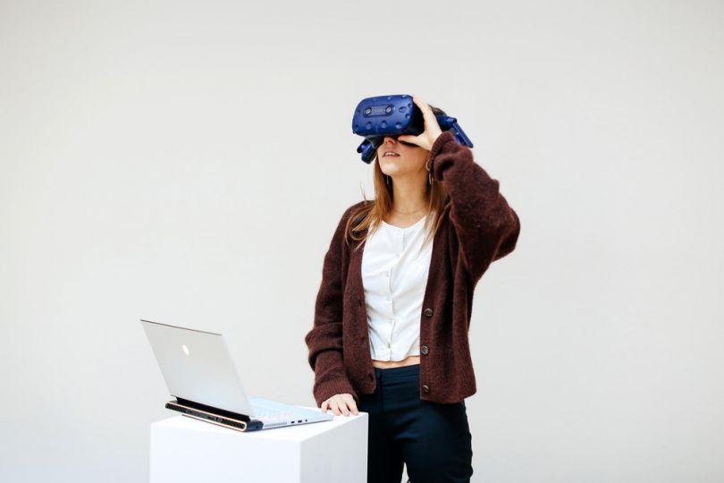 Ludmila Moleman, MA Virtual Reality, London College of Communication © Alys Tomlinson