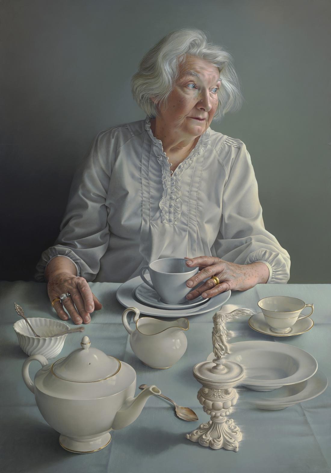 An Angel At My Table by Miriam Escofet, 2017 © Miriam Escofet