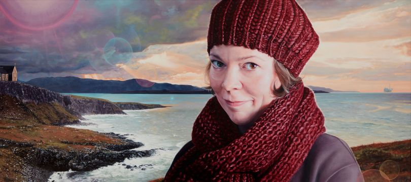 Olivia Colman as Bess from Breaking The Waves  Oil on Canvas 135 x 60cm